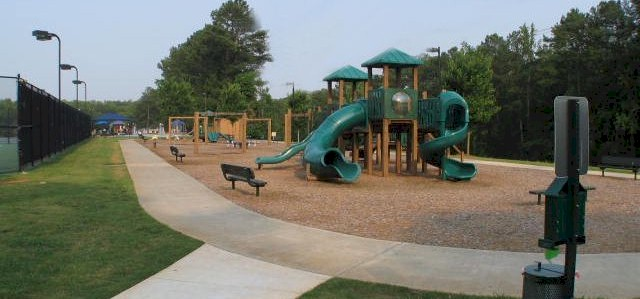 Extensive Playground Area