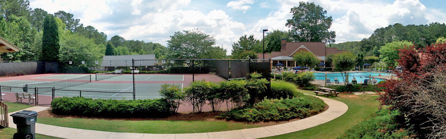 A Swim/Tennis/Lake Community