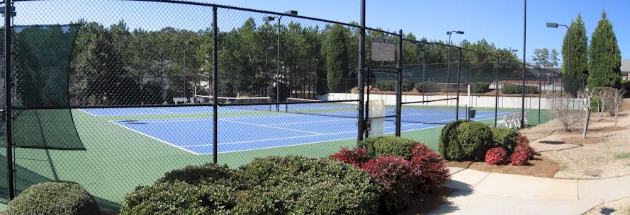 Paces Club Boasts Six Tennis Courts And A Tournament League