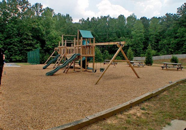 Wonderful Community Playground Area