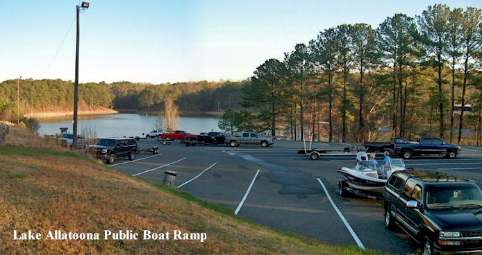 Lake Allatoona Public Boat Ramp