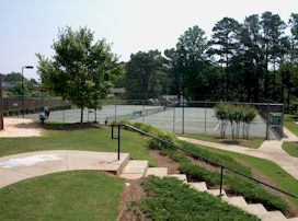 English Oaks Yennis Courts