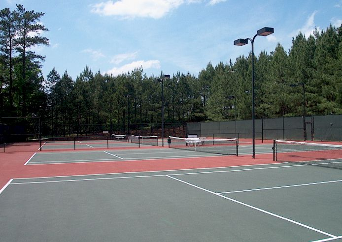 Four Floodlite Tennis Courts And ALTA Membership