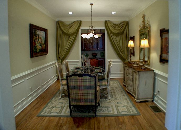 Lavish Separate Dining Rooms