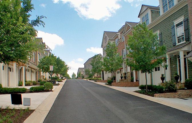 Avenues Of Splendid Brick Townhomes