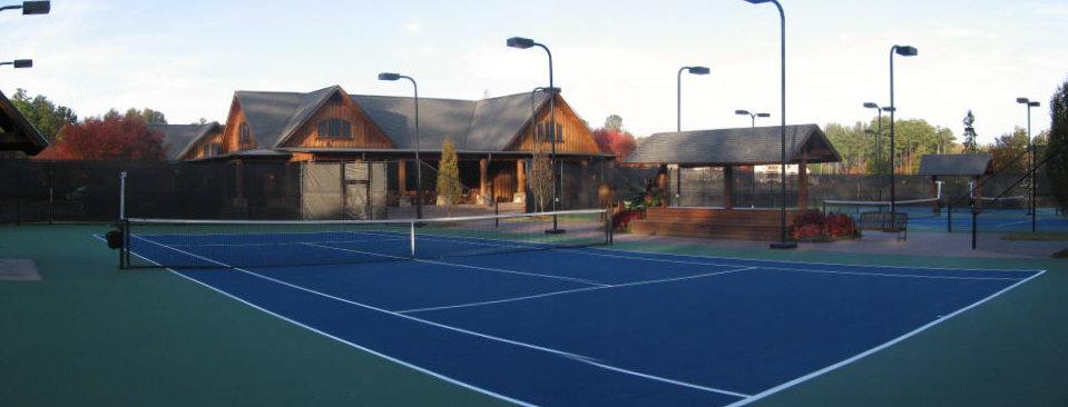 The River Club Tennis Courts, Suwanee GA