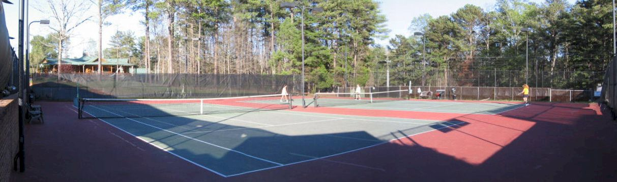 Tennis Courts at Country Club