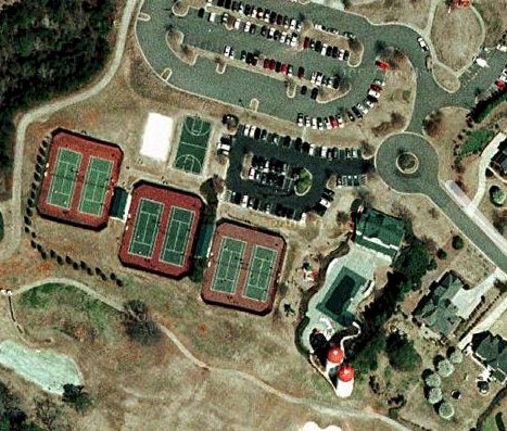 Satelite Image Of Community Facilities